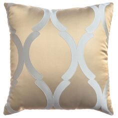 Softline Home Fashions Decorative Pillow Savannah in Haze. The Savannah drapery panels and decorative pillows are a contemporary jacquard. Dreams Beds, Drapery Panels, Fine Linens, Duvet Sets, Beautiful Bedrooms, Luxury Bedding, Color Splash, Decorative Pillows, Bedroom Decor