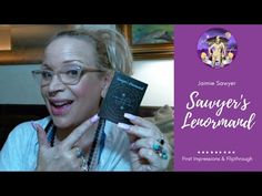 Sawyer's Lenormand: First Impressions & Flipthrough Tarot Reading, Tarot Decks, Free Ebooks, Witchcraft, Einstein, Indie, Articles, Daughter, Social Media