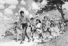 Pencil Drawing - David Nordahl, Michael Jackson's personal portraitist from 1988 - 2005, USA