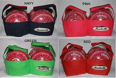 #Henselite 4 bowl lawn bowls bowling carrier #blue, #green, pink or red heavy dut,  View more on the LINK: http://www.zeppy.io/product/gb/2/121955931555/
