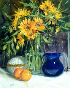 Summer by Judy Crowe - Summer Painting - Summer Fine Art Prints and Posters for Sale