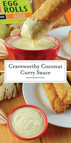 Coconut Curry Sauce - A Delicious Coconut Curry Recipe - Coconut Curry Sauce is a creamy Asian dipping sauce with curry, lime, coconut milk and yogurt. Serve with egg rolls or grilled vegetables! Keto Diet Drinks, Vegan Keto Diet, Keto Cocktails, Keto Meal, Keto Diet Vegetables, Grilled Vegetables, Asian Vegetables, Coconut Curry Sauce, Coconut Milk