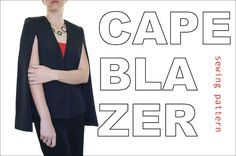 There's simply no denying it – cape blazers are a hot trend. They are everywhere – celebrities are wearing them, stores are stocking them, and you we see more and more of them on the streets. Once I n