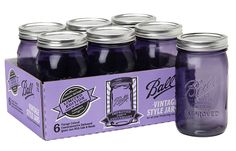 Jarden's new limited edition Purple Ball Heritage Collection Quart Jars are perfect for canning or crafting. #heritagecollection