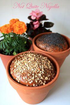 Flowerpot Cheese & Mustard Bread