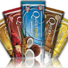 Quest Bars- What athletes choose to eat for a low carb, no sugar, high protein & high fiber protein bar.