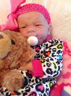 SWEET BABY GIRL!!!BERENGUER LIFE LIKE NEWBORN REBORN PACIFIER DOLL+ EXTRAS!!!