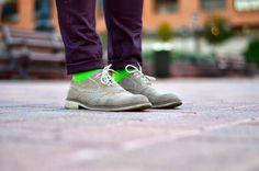 Lemonade Attack green socks, calcetines verdes