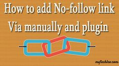 How To Add No-follow As SEO Friendly :http://www.mytechleo.com/how-to-add-no-follow-as-seo-friendly/