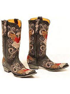 Old Gringo Boots Grace L639-1 Black #oldgringo #cowgirlboots