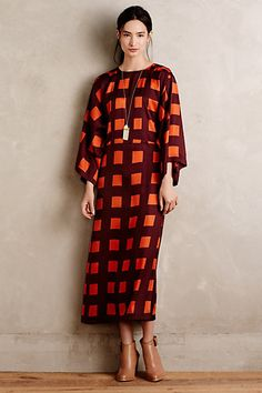 Carnaby Maxi Dress #anthropologie