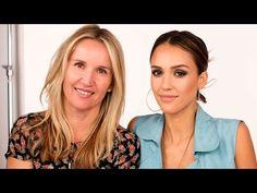 Stunning Smoky Eyes with Jessica Alba and Celebrity Makeup Artist Monika Blunder - YouTube