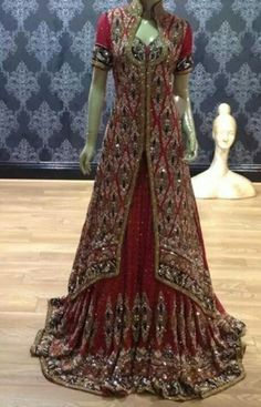 pAKISTANI wedding dress n also indian its look so beautiful may b u like this ....