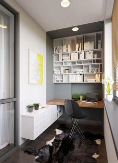 33 Ιδέες για Μικρά αλλά Λειτουργικά Σπιτικά Γραφεία
