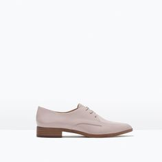 Image 1 of LACE-UP BLUCHER from Zara