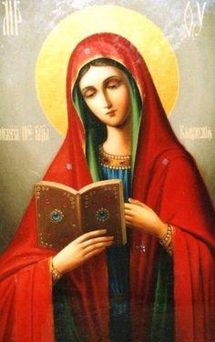 La Virgen María, imagen ortodoxa Rusa