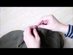 Ompele tuntomuistipeli kierrätysmateriaaleista Holding Hands