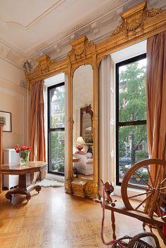 Union Street Brooklyn brownstone Victorian interior by techpro12, via Flickr