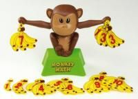 Monkey Math  Count the monkeys bananas  Monkey Math makes addition fun! Just hang an equal number of bananas on   each of the monkeys hands.If youve done your addition correctly, the monkey   will look straight ahead and his arms will be level. If the numbers are not equal,   his eyes will be crossed and his arms will be up and down. Height: 18 cm  List Price: R299.99 Monkey And Banana, Balance, Science Education, Food Design, Homeschool, Christmas Ornaments, Holiday Decor, Fun, Monkeys