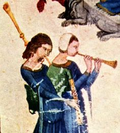 "Single-drone Bagpipe and Shawm (14th Cent. Boethius ""De Arithmetica"")"