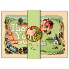 Farm Thank you Cards