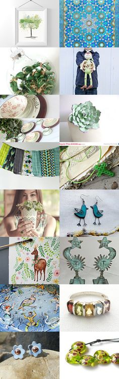 Shopping with Afternoon Tea by Kathie Hufstetler on Etsy--Pinned with TreasuryPin.com
