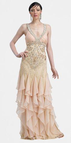Art Deco Ball Gowns -