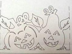 varrogató Autumn Filigrana Fall Crafts, Halloween Crafts, Halloween Decorations, Diy And Crafts, Paper Crafts, Kirigami, White Pomeranian Puppies, Teacup Puppies For Sale, Paper Cutting Patterns