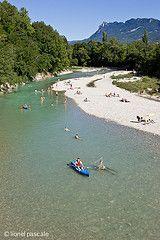 Drôme Mirabel-et-Blacons drome canoë baignade  http://www.eau-pure-drome.com/