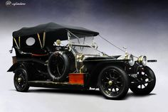 1911 Rolls-Royce Silver Ghost 40/50hp Touring Car by Barker