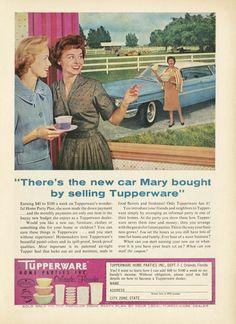 Tupperware Ad 1960