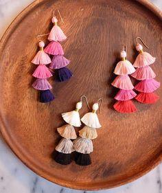 DIY Christmas Gifts for Girlfriend | DIY Tassel Earrings