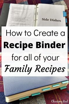Make meal planning and meal prep easier with a family recipe binder that includes all your favorite family recipes. It's like having your own family cookbook. Family Recipe Book, Family Recipes, Family Meals, Diy Recipe Book, Recipe Books, Budget Recipes, Planning Budget, Menu Planning, Party Planning