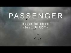 Passenger-Birdy- Beautiful Birds- Music Love- In Love with this song- Soulful