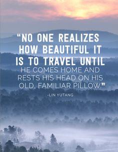 Beautiful travel