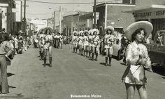 Desfile en fiesta de Jalostotitlan Los Altos de Jalisco Mexico