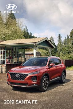 Every journey is made better when traveling in the 2019 Hyundai Santa Fe. This stylish SUV lets you road trip in first class with the latest technology and safety, plus comforts that all five passengers will appreciate. Santa Fe Suv, Santa Fee, Hyundai Suv, Hyundai Vehicles, My Dream Car, Dream Cars, Compact Suv, Suv Cars, Quality Time