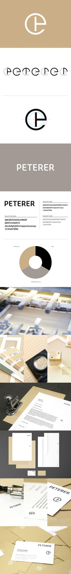 Peterer Lawyer // Corporate Design on Behance