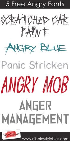 Angry Fonts http://www.nibblesskribbles.com/2016/02/5-free-angry-fonts/