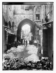"""""""...Jerusalem, in 1921. Snow is mentioned in the Bible only once. Benaiah, son of Jehoiada, who had struck Moab's two mightiest warriors, killed a lion on the day when snow fell (2Sam 20:23). The two extraordinary events mutually preserved each other in historical memory."""" More photos at this site...amazing!"""