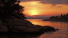 Thimble Island Sunset ~ Branford, CT