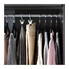 ENUDDEN Hanger with clip  - IKEA, great for hanging jeans and scarves
