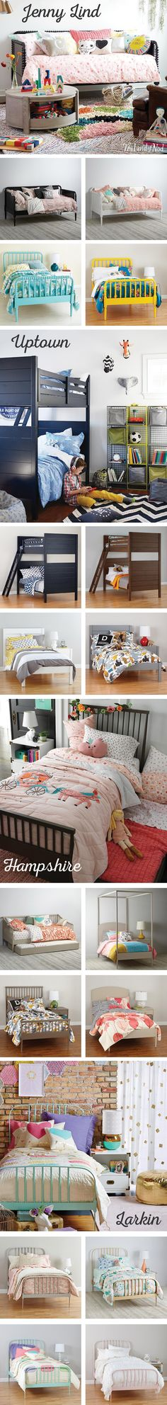 We all know that youngsters need to get a good night's sleep. And thanks to our collection of kids beds, they'll get just that. If you're looking for kids bedroom furniture that's made to last, The Land of Nod has everything you need for a cozy (yet durable) nest. From a twin and full to bunk beds and daybeds, there's a size and style to suit every bedroom design. Now, making the bed is another story.