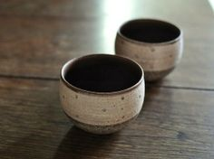 Masuzo Kao - Cups #pottery #Japanese_pottery #ceramics #Japanese_ceramics  #cup