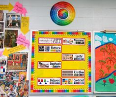 Cassie Stephens: DIY: A Color Wheel Clock!