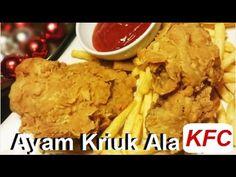 nice Resep Ayam Goreng Kriuk Kriuk Ala KFC (Fried Chicken Recipe)