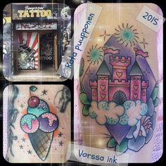 https://www.facebook.com/VorssaInk/, http://tattoosbykata.blogspot.com, #tattoo #tatuointi #katapuupponen#vorssaink #forssa #finland #traditionaltattoo #suomi #oldschool #pinup #disneycastle
