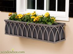 With a copper liner for the two front windows of our house?  The Arch Bronze Window Box Cage (Square Design) - 99.97
