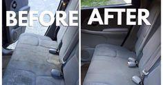 Ein innovatives Gebräu zur Autositz-Reinigung macht derzeit das Internet unsicher.