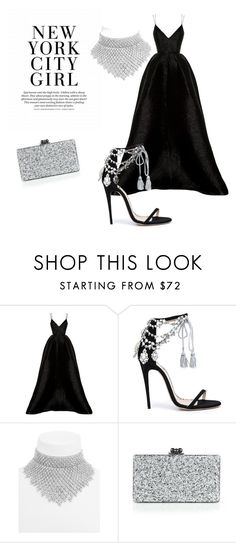 """NYSG"" by explorer-148461648110 on Polyvore featuring Alex Perry, Marchesa, BaubleBar and Edie Parker"